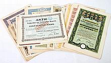 Bayern - Sammlung von 31 Wertpapieren, alle vor 1945