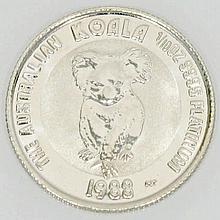Australien/PLATIN - 15 Dollars 1988 Koala, 1/10 Unze Platin,