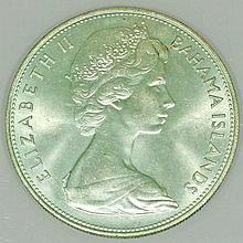 Bahamas - 5 Dollars 1969,