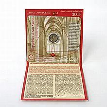 San Marino - 2 Euro 2005, Jahr der Physik, Galileo Galilei,