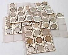 USA - aus 1880/1935, 55 x 1 Dollar,