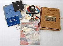 Thematik Zeppelin/Maybach - Interessantes Konvolut: Diverse Fotos, Bücher, Postkarten