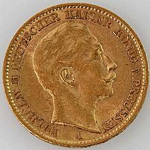 Preussen - 20 Mark 1910/A, Wilhelm II,