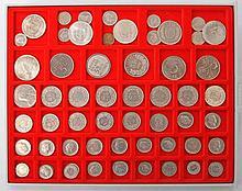Schweiz - LINDNER Tableau voller Münzen,