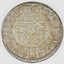 Römisch-Deutsches Reich - Erzherzog Leopold V., 1619-1632, Reichstaler 1632, Hall in Tirol,