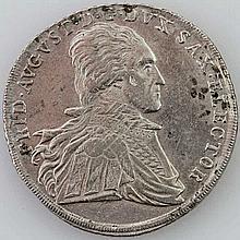 Sachsen - Friedrich August III., 1763-1806, Ausbeute-Konventionstaler 1802 I.E.C. Dresden,