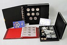 Konvolut - BRD, Silber, Medaillen und Beifang,
