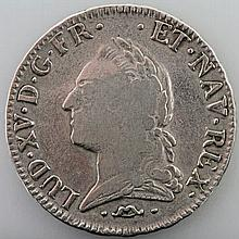 Frankreich - Ecu 1772/N, Ludwig XV,