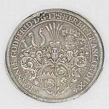 Würzburg - Johann Gottfried II. von Guttenberg, 1684-1698. Taler 1693. IM = W,