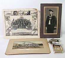 Kleiner Foto- und Postkartennachlass des Matrosen Koch auf der SMS Kaiser Wilhelm der Große,
