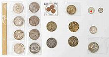 Asien, Russland, Deutsches Reich - Konvolut, diverse Münzen +