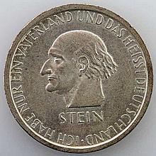 Weimarer Republik - 3 Mark Stein 1931,