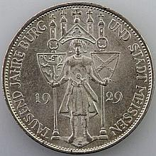 Weimarer Republik - 3 Mark Meissen, 1929