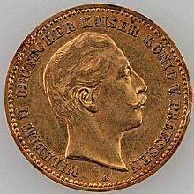 Preussen - 10 Mark 1904/A, Wilhelm II,