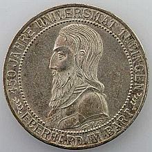 Weimarer Republik - 3 Mark Tübingen, 1927/F,
