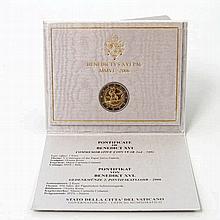 Vatikan - 2 Euro-Gedenkmünze 2006, Pontifikat Benedikt XVI.,