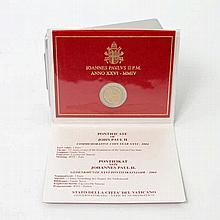 Vatikan - 2 Euro-Gedenkmünze 2004, Pontifikat Johannes Paul II.,