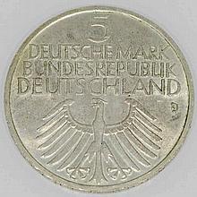 Bundesrepublik - 5 DEM Germanisches Museum,