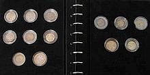 Album Deutsches Reich mit 25 Münzen, teilweise gute Erhaltungen,