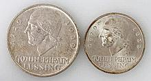 Weimarer Republik - Lessing, 3 Mark 1929/A