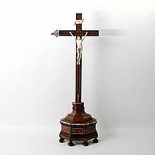 Standkruzifix, 18.Jh.,