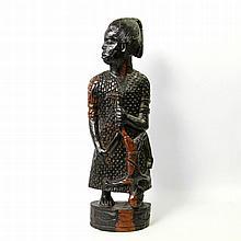 Figur aus Ebenholz. BENIN/NIGERIA, um 1970