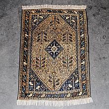 Orientteppich. GASHGAI/SHIRAS/SÜDPERSIEN, um 1960, 221x134