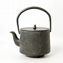 Teekessel aus Eisen. JAPAN, 20. Jh.