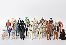 STAR WARS Konvolut Figuren, meist 1970er Jahre,