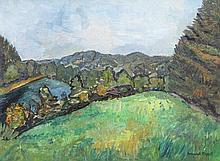 STEPATH, Margarete (1899-1978), 'Allgäuer Landschaft'.