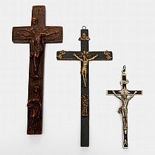 Drei Kruzifixe, 20.Jh.,