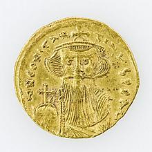 Byzanz - Constnas II. (641-668), GOLD Solidus,