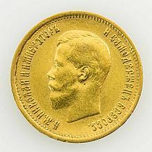 Russland - 10 Rubel 1899/r, GOLD,