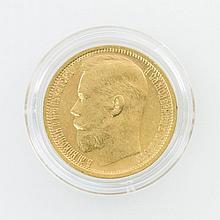 Russland - 15 Rubel 1897/r, Nikolaus II,