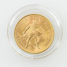 Russland - 10 Rubel 1977, Tschwerwonez,