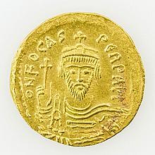 Byzanz/Oströmisches Reich - Focas/Phocas (602-610), GOLD, Solidus,