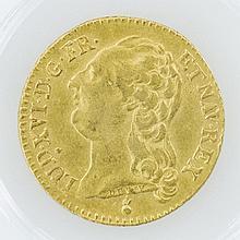 Frankreich - Lous dór 1787, Ludwig XVI, GOLD,