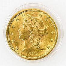 USA - 20 Dollars 1895 o.Mzz., GOLD,