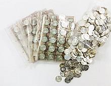 BRD - Lot mit 5 DM Gedenkmünzen bis 1979 Archäolog. Institut (alle Ag),