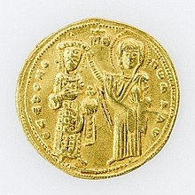 Byzanz - Romanus III. (1028-1034), Histamenon, GOLD,