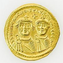 Byzanz - Heraclius (610-641), GOLD Solidus,