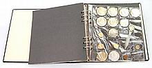 Sammlung mit GOLD und SILBER - 1 Album, dabei z.b. 1 Rand Au 1968,