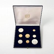 Bailiwick of Jersey/GOLD - Zur Silberhochzeit Königin Elisabeth II., ca. 46 g Au fein