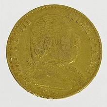 Frankreich/GOLD - 20 Francs 1814 A, Paris, Louis XVIII., 1814-1830,