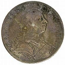 Württemberg - Konventionstaler 1759, Karl Eugen, 1744-1793,