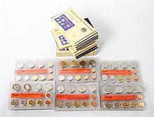 BRD / DM-KMS - 82 Kursmünzensätze von 1996 bis 2001,