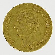 Frankreich/GOLD - 20 Francs An. 12 (1803-1804) A, Paris, Napoleon I Bonaparte, 1. Konsul,