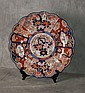 18th/19th C Imari porcelain charger with a repair