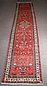 Antique Persian Hamadan runner. 16'6 X