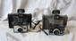 L21 LOT OF 2PC POLAROID COLORPACK CAMERAS COLORPACK II AND COLORPACK III